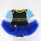 2015 children Chrismas clothings infant baby 0-1 year short sleeve bodysuit with tutu dress