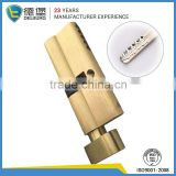 Brass high grade lock cylinder C grade top safe lock with rotary knob