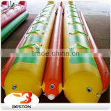 Hot Sale water park equipment price,water banana boat,inflatable water park toy                                                                                                         Supplier's Choice