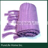 SZPLH Good for health warm and breath knitted blanket