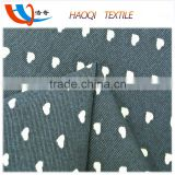 Textile factory cotton viscose fabric for party dress fabric