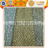 100% polyester shining yarns woven upholstery linen look sofa fabric