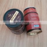 Factory directly and mold existing barrel shape coffee tin                                                                         Quality Choice