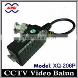 easier-plug passive coaxial video balun transceiver