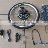 36v 350w big rear motor electric bike kit, e-bike spare parts, electric bicycle conversion kits