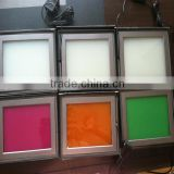 Switchable smart tint film milky white/red/yellow smart film for glass