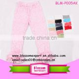 High quality baby girls boutique ruffle pants baby leggings lace kids pants                                                                                                         Supplier's Choice