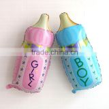 Baby Shower Decoration Bottle Foil Balloons