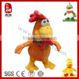 Stuffed plush chicken sing and dancing electronic plush toy                                                                         Quality Choice