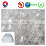 Baby bottle plastic raw materials prices polycarbonate resin raw material in plastic industry