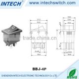 3A/6A/15A 250V round rocker switch