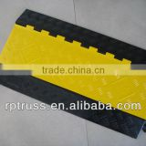 Rubber cable protector hump road safety rubber hump