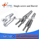 Wholesale High Quality Conical Twin Screw and Barrel for Plastic Extruder Machine