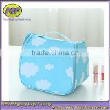 cosmetic bag material colorful fashion hot sale travel cosmetic bag
