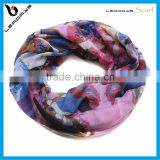 colorful latest new design hot selling lady loop scarf