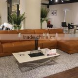 classice Italian leather sofa bed chaise luxury lounge sofa set                                                                         Quality Choice