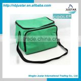 China Manufacturer Disposable Polyester Outdoor 6 Pack Beer Cans Wine Lunch Insulated Cooler Bag