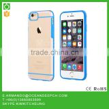 OceanDeep Ultra thin Color Soft TPU Transparent Acrylic Combo Case Back Cover for iPhone6s 6