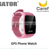 Fashionable and casual personal monitoring golf gps watch --Caref Watch