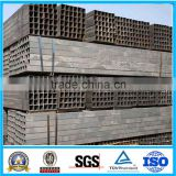 SS400 black ERW rectangle steel pipe/tube