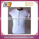 Stan Caleb 2016 summer short sleeve polyester cycling jersey