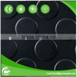 black pvc anti fatigue mats
