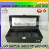 Wood Material Cigarette display box display stand for Cigarettes