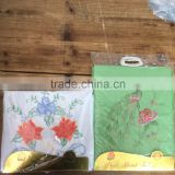 Africa sunflower flower embroidered bedding sets with good quality