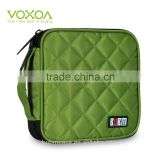 Green Color 32 Capacity 230D Space Twill PVC Fabric DVD Case CD Holder personalized cd case multi disc dvd cases
