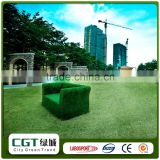 Waterproof high quality u shape landscape artificial turf for wall