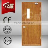 steel fire door with panic push bar 1 hours fire rated door