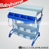 multi function EN standard folding baby diaper changing table
