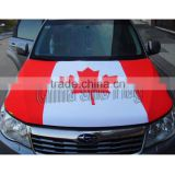 custom car flag engine hood cover