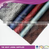 55% polyester 45%viscose lining taffeta fabric inner lining fabric for bags taffeta lining fabric for handbag