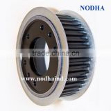 QD bushing timing pulley, aluminum timing pulley, HTD pulley