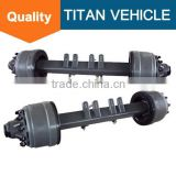 Hydraulic dump Semi trailer parts / Fuwa axle Trucks Trailers parts for sale