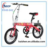 Wholesale cheap alloy folding bike steam folding bicycle handlebar,New design 20 inch foldable bike single speed bicycle