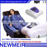 Professional air pressure far infrared therapy sauna blanket lymphatic drainage machine with muscle