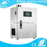 High concentration ceramic plate ozone generator for commercial kitchen exhaust duct odour,grease,oil mist removal