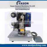 Hot stamp coding machine, ribbon coding machine,date printer on bag/film/paper sheet automatic printing