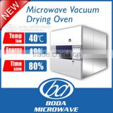 microwave drying flower vacuum dryer /heating equipment