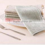 Antibacterial Storng Decontamination Kitchen Oil-Free Bamboo Fiber Cleaning Cloth Dish Towel