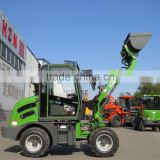 2015 hot 0.8t mini payloader HZM 908 with CE