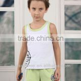 baby summer kids clothing sets OEM shirts teens boys clothing sportswear vest Children's Clothing Sets
