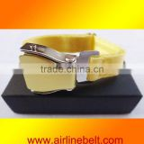 Top classic airline baby gold bracelets