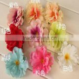 Artifical Peony And Rose Flower Hair Accessory Hair Clips For Outdoor