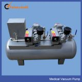 Rotary-Vane Type Vacuum Pumps Station for Medical Gas Pipeline System
