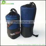 Micro fiber sport towel microfiber customized logo travel towel with carry mesh bag microfiber terry towel cloth