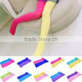 Spring Summer Velvet Pantyhose Soft Ballet Dance Stocking Pants for Baby Girl Child 2Colors AB Pantyhose 20 Candy Color