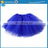Fashion Simple Design Cheap Fluffy Mesh Tutu Skirt Dress for Girls Party